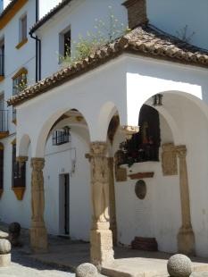 Templete de la virgen de los Dolores