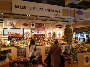 "Taller de frutas y verduras ""Gold Gourmet""."