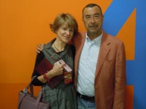 Ino Crespo y José Luis Garci