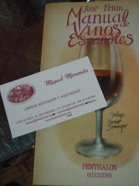 Manual de Vinos españoles- Jose Peñin